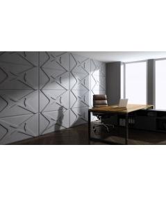VT - PB17 (S50 jasny szary 'mysi') MODUŁ X - panel dekor 3D beton architektoniczny