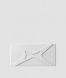 VT - PB17 (S50 jasny szary - mysi) MODUŁ X - panel dekor 3D beton architektoniczny