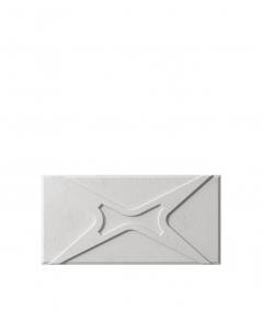 VT - PB17 (S51 dark gray - mouse) MODULE X - 3D architectural concrete decor panel