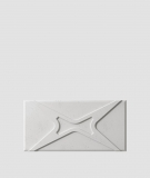 VT - PB17 (S51 ciemny szary - mysi) MODUŁ X - panel dekor 3D beton architektoniczny