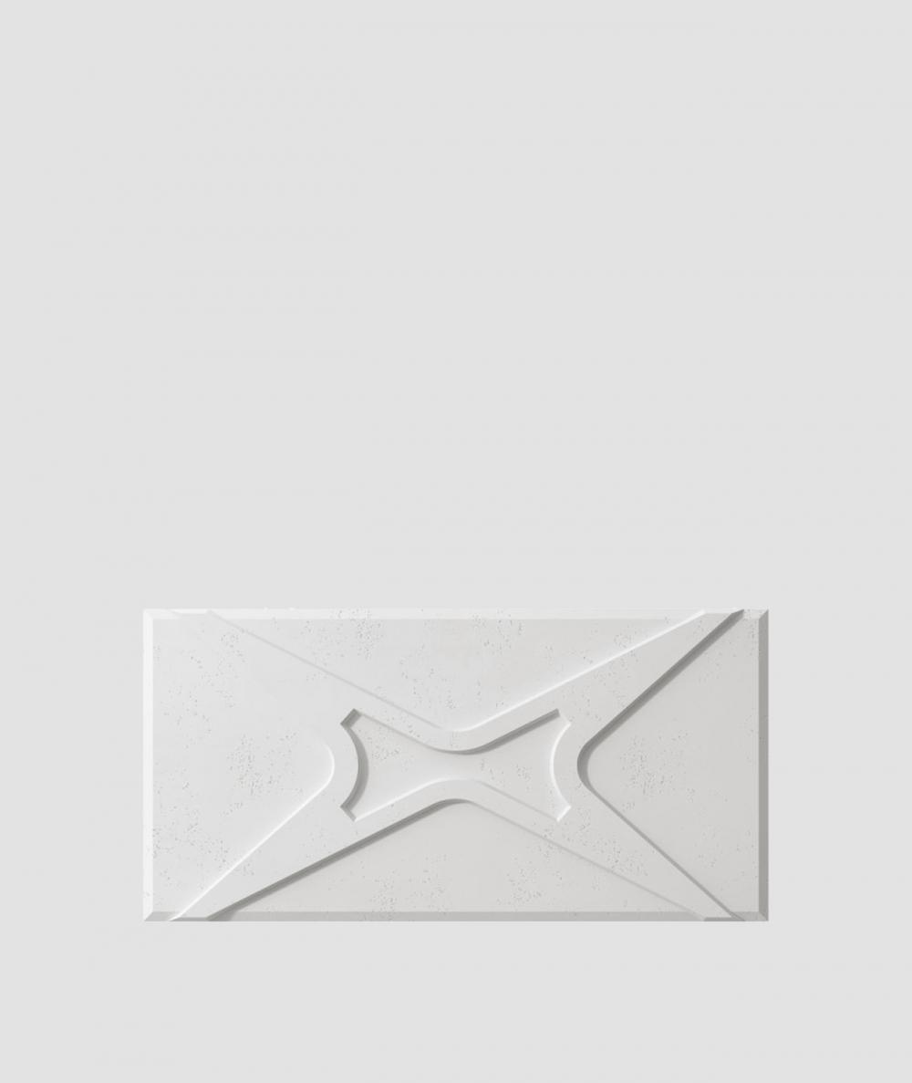 VT - PB17 (S95 jasny szary 'gołąbkowy') MODUŁ X - panel dekor 3D beton architektoniczny