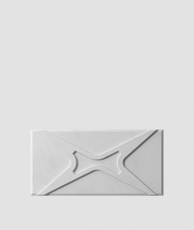 PB17 (S96 dark gray) MODULE X - 3D architectural concrete decor panel