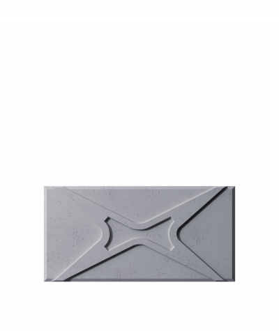 VT - PB17 (B8 anthracite) MODULE X - 3D architectural concrete decor panel