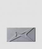 VT - PB17 (B8 antracyt) MODUŁ X - panel dekor 3D beton architektoniczny