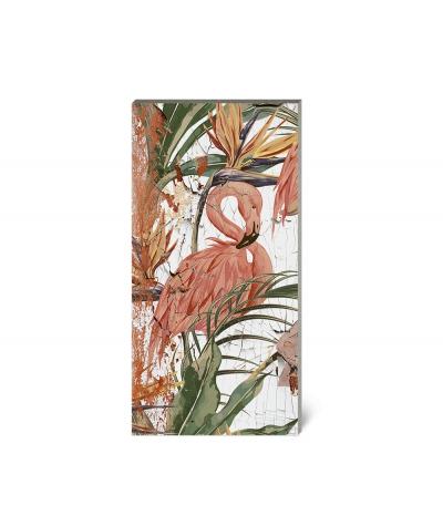 GF - (flamingos) - 4 foam acoustic panels