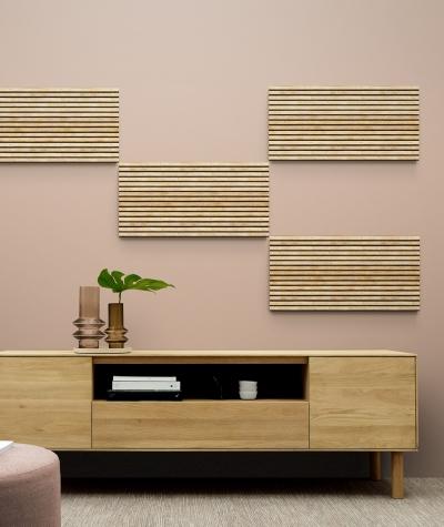 GF - (lamellas) - foam acoustic panels