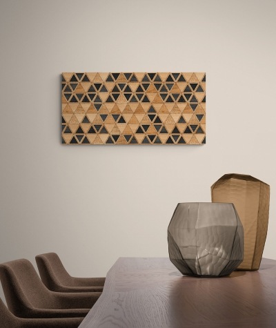 GF - (trójkąty) - piankowe panele akustyczne
