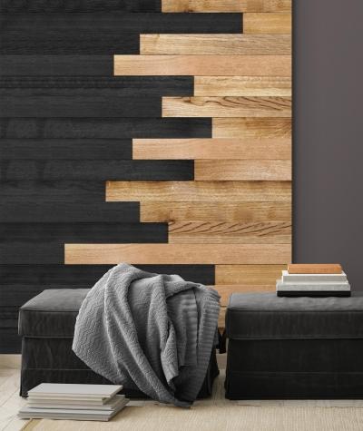 GF - (drewno 4) - piankowe panele akustyczne