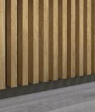 GD - (8 lameli, dąb santana) - Lamele dekoracyjne na płycie