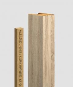 GD - (16 lamellas, capri ash) - Decorative lamellas on the board