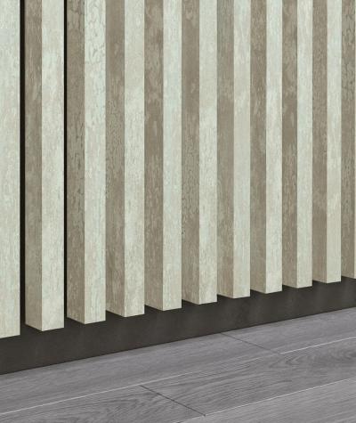 GD - (16 lamellas, desert beige) - Decorative lamellas on the board