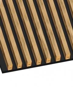 GD - (15 lamellas, desert beige) - Decorative lamellas on the board