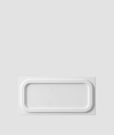 PB19 (B1 gray white) MODULE O - 3D architectural concrete decor panel