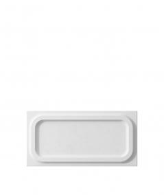 VT - PB19 (B1 siwo biały) MODUŁ O - panel dekor 3D beton architektoniczny