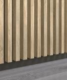 GD - (7 lameli, jesion capri) - Lamele dekoracyjne na płycie