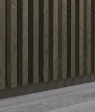 GD - (7 lameli, dąb kanadyjski) - Lamele dekoracyjne na płycie