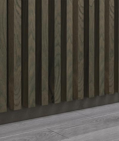GD - (15 lameli, dąb kanadyjski) - Lamele dekoracyjne na płycie