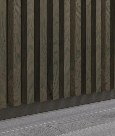 GD - (15 lamellas, canadian oak) - Decorative lamellas on the board