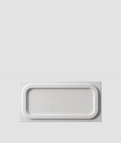 PB19 (S51 dark gray 'mouse') MODULE O - 3D architectural concrete decor panel