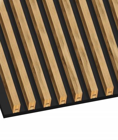 GD - (15 lamellas, riviera oak) - Decorative lamellas on the board