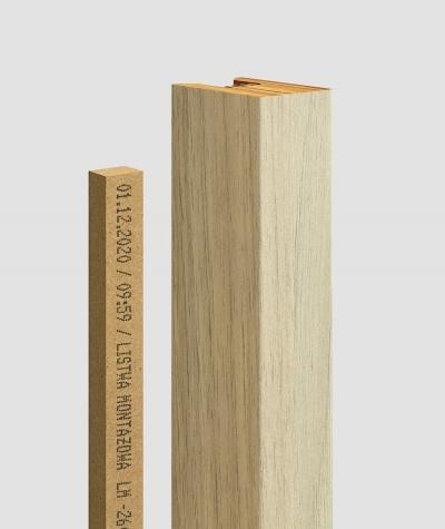 GD - (15 lamellas, royal oak) - Decorative lamellas on the board