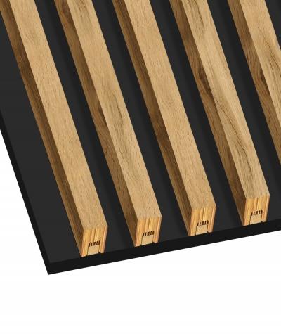 GD - (7 lamellas, pearl elm) - Decorative lamellas on the board