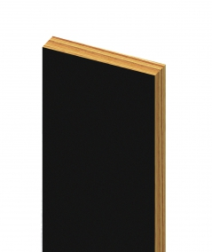 GD - (czarny) - 3 cm listwa dekoracyjna do lameli ściennych