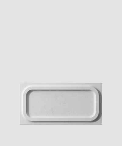VT - PB19 (S96 ciemny szary) MODUŁ O - panel dekor 3D beton architektoniczny
