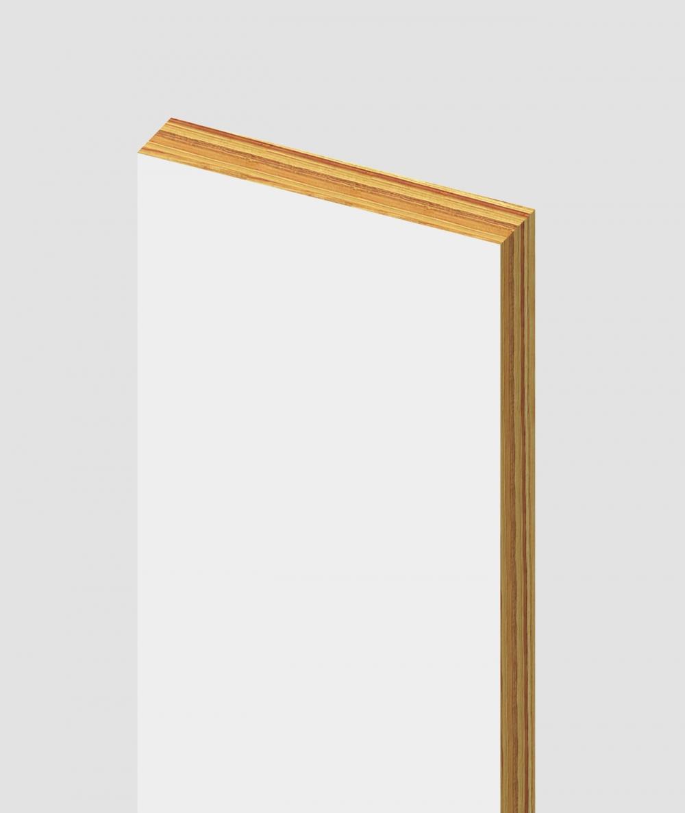GD - (biały) - 3 cm listwa dekoracyjna do lameli ściennych