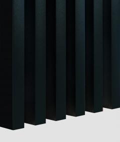 GD Lamella (matte black) - Double 3D decorative panel