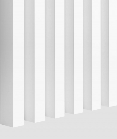 GD Lamella (matte white) - Double 3D decorative panel