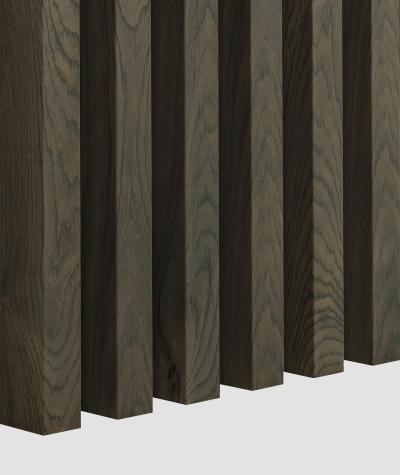 GD Lamella (canadian oak) - Double 3D decorative panel