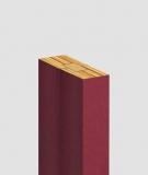 GD Lamel (bordo meksykańskie) - Podwójny panel dekoracyjny ścienny 3D