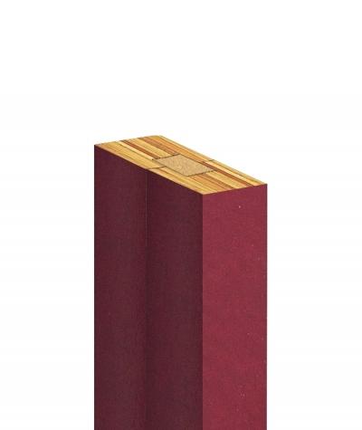 GD Lamella (mexican burgundy) - Double 3D decorative panel