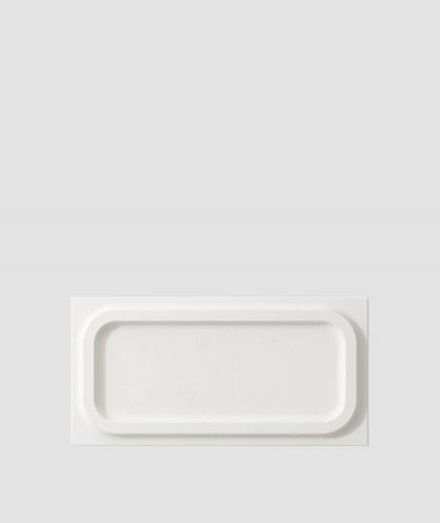 VT - PB19 (BS śnieżno biały) MODUŁ O - panel dekor 3D beton architektoniczny