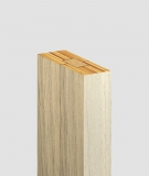 GD Lamel (dąb royal) - Podwójny panel dekoracyjny ścienny 3D
