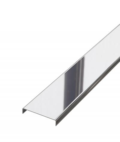 SM - (srebrny połysk) - stalowa listwa dekoracyjna C
