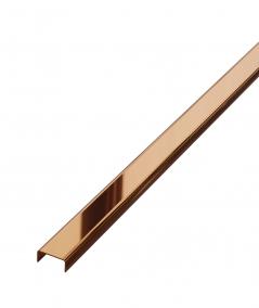 SM - (miedziany połysk) - steel decorative strip C