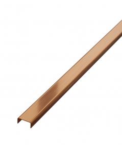 SM - (miedziany matowy) - stalowa listwa dekoracyjna C