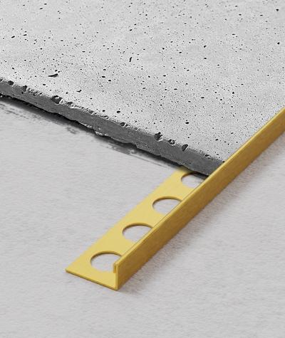 SM - (matte gold) - steel decorative strip J