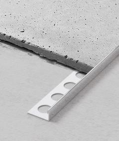SM - (glossy silver) - steel decorative strip J