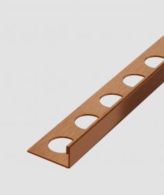 SM - (matte copper) - steel decorative strip J