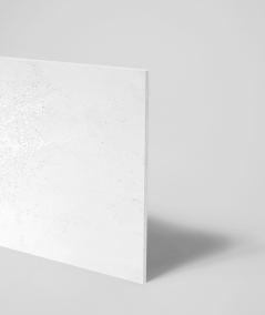 DS (white with silver particles) - architectural concrete slab GRC ultralight