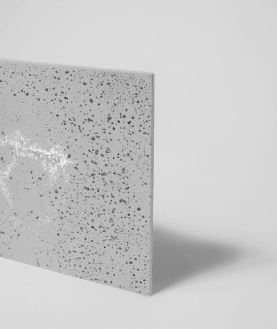 DS (jasny popiel, srebrne kruszywo) - płyta beton architektoniczny GRC ultralekka