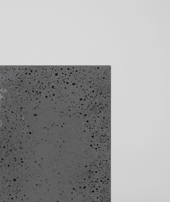 DS (anthracite with silver particles) - architectural concrete slab GRC ultralight