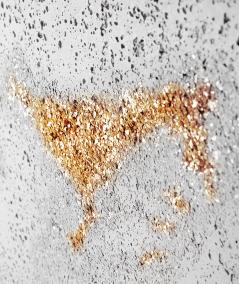 DS - (biały złote kruszywo) - płyta beton architektoniczny GRC ultralekka