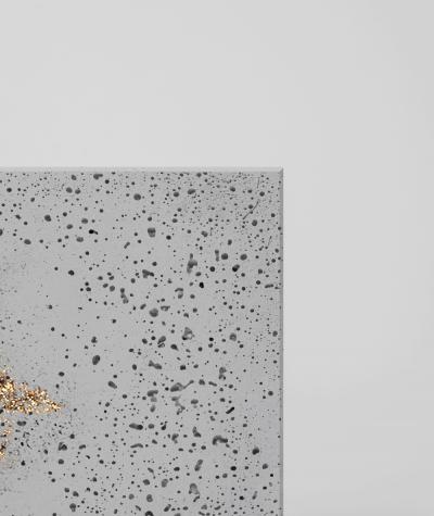 DS - (jasny popiel, złote kruszywo) - płyta beton architektoniczny GRC ultralekka