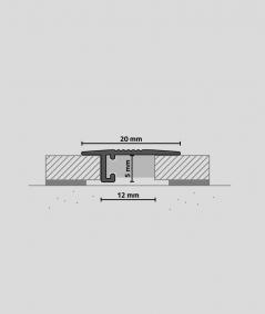 Minileiste - (white) - Minimalistic skirting profile