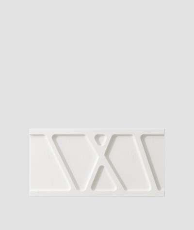 VT - PB24 (BS śnieżno biały) Moduł W- panel dekor 3D beton architektoniczny