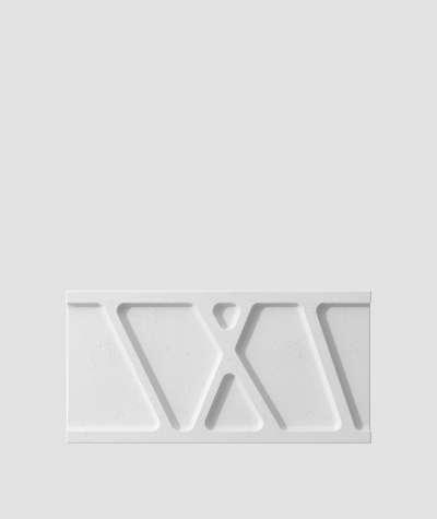 VT - PB24 (S50 jasny szary - mysi) Moduł W- panel dekor 3D beton architektoniczny